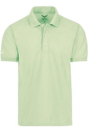 Trigema Heren Korte mouw - Comfort Fit Polo shirt Korte mouw lichtgroen, Effen
