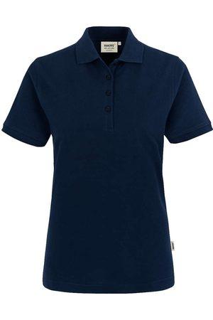 HAKRO Heren Poloshirts - 110 Regular Fit Dames Poloshirt inkt, Effen