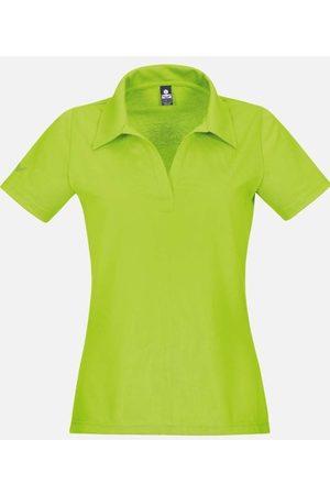Trigema Heren Poloshirts - Slim Fit Dames Poloshirt citroen, Effen