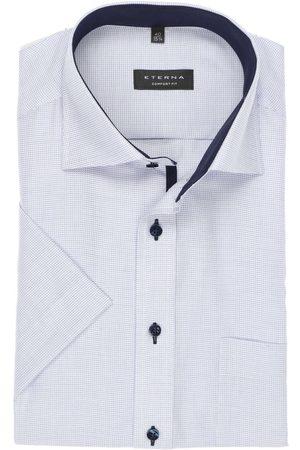 ETERNA Heren Korte mouwen - Comfort Fit Overhemd Korte mouw / , Gestructureerd