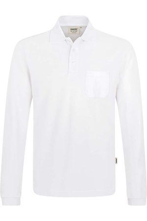 HAKRO Heren Lange mouw - 809 Comfort Fit Poloshirt lange mouw , Effen