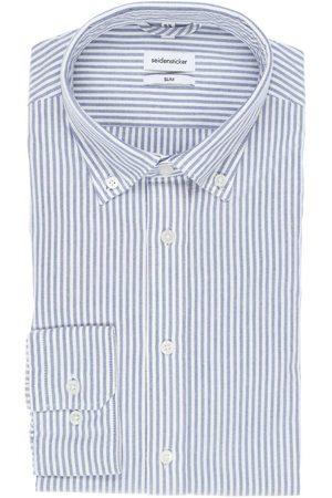 Seidensticker Heren Zakelijk - Smart Business Slim Fit Overhemd / , Gestreept