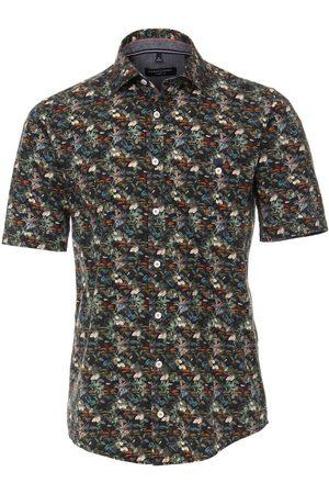 Casa Moda Heren Korte mouwen - Casual Casual Fit Overhemd Korte mouw , Motief
