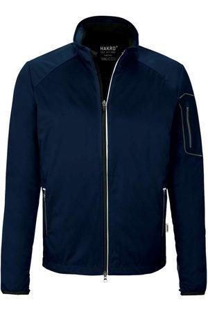 HAKRO Heren Sportjassen - 856 Regular Fit Softshell jas nachtblauw, Effen