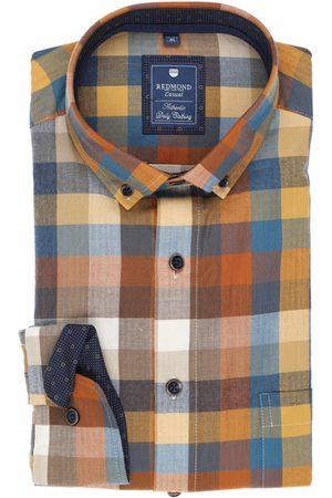 Redmond Heren Casual - Casual Regular Fit Overhemd , Motief