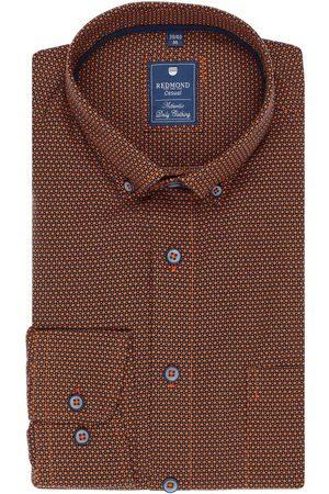 Redmond Heren Casual - Casual Regular Fit Overhemd / , Motief