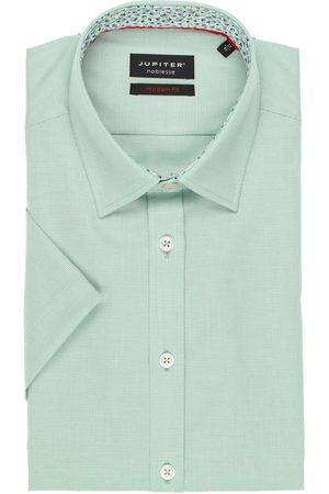 Jupiter Modern Fit Overhemd Korte mouw , Gestructureerd