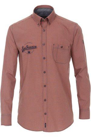 Casa Moda Heren Casual - Casual Casual Fit Overhemd , Ruit
