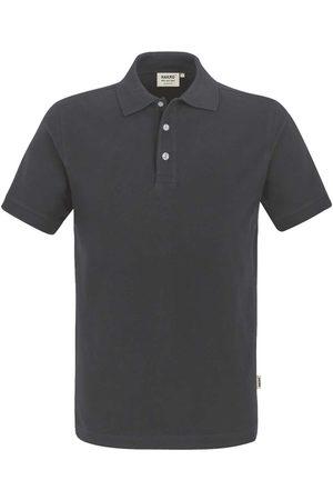 HAKRO Heren Korte mouw - 822 Regular Fit Polo shirt Korte mouw antraciet, Effen