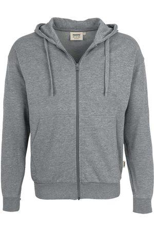 HAKRO Heren Lange mouw - Comfort Fit Hooded sweatshirt , Melange