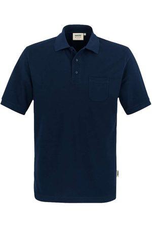 HAKRO 812 Comfort Fit Polo shirt Korte mouw nachtblauw, Effen