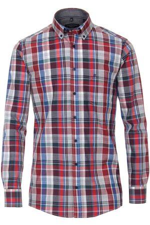 Casa Moda Heren Lange mouwen - Comfort Fit Overhemd , Ruit