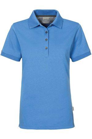 HAKRO Heren Poloshirts - 214 Regular Fit Dames Poloshirt malibu , Effen