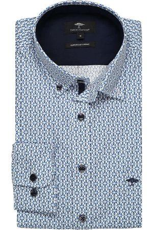 Fynch-Hatton Heren Casual - Casual Fit Overhemd , Motief