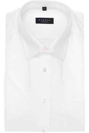 ETERNA Heren Korte mouwen - Comfort Fit Overhemd Korte mouw , Effen