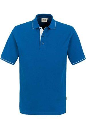 HAKRO Heren Korte mouw - 803 Comfort Fit Polo shirt Korte mouw koninklijk/ , Tweekleurig