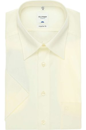 Olymp Heren Korte mouwen - Tendenz Regular Fit Overhemd Korte mouw , Effen