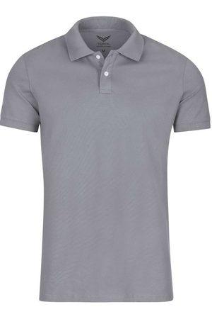 Trigema Heren Korte mouw - Slim Fit Polo shirt Korte mouw , Effen
