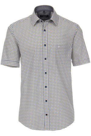 Casa Moda Heren Korte mouwen - Casual Casual Fit Overhemd Korte mouw veelkleurig, Motief