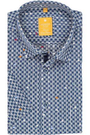 Redmond Heren Korte mouwen - Modern Fit Overhemd Korte mouw / , Motief