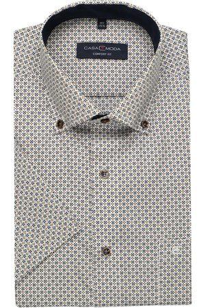 Casa Moda Heren Korte mouwen - Comfort Fit Overhemd Korte mouw / / , Motief