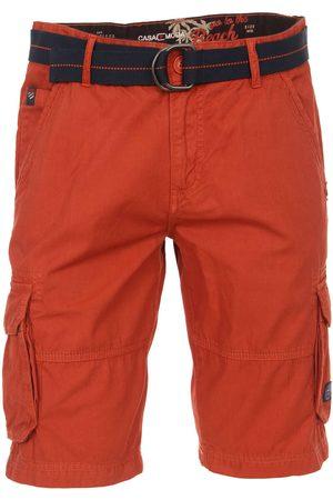 Casa Moda Heren Shorts - Casual Fit Cargo Shorts , Effen