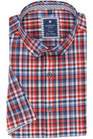 Redmond Regular Fit Overhemd Korte mouw , Ruit