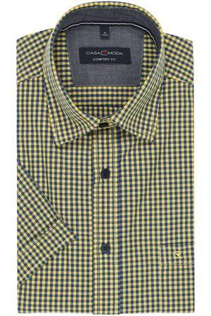 Casa Moda Heren Korte mouwen - Casual Comfort Fit Overhemd Korte mouw / , Ruit