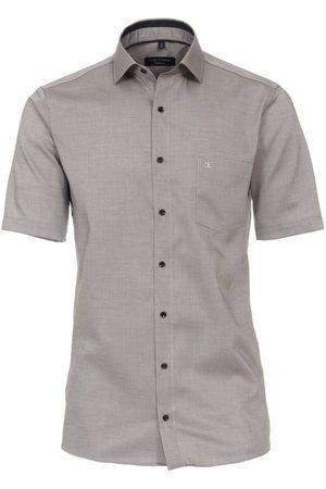 Casa Moda Heren Korte mouwen - Modern Fit Overhemd Korte mouw / / , Faux-uni