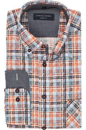Casa Moda Heren Casual - Casual Fit Overhemd / , Ruit