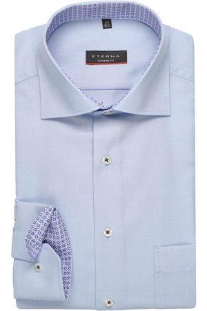 ETERNA Heren Lange mouwen - Modern Fit Overhemd lichtblauw