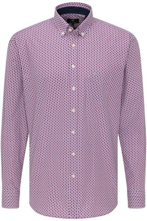 Fynch-Hatton Casual Fit Overhemd / , Ruit