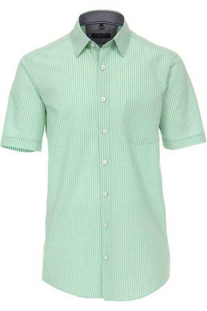 Casa Moda Heren Korte mouwen - Casual Casual Fit Overhemd Korte mouw / , Effen