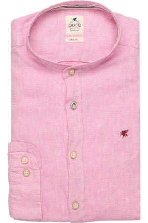 Pure Heren Overhemden - Slim Fit Overhemd , Effen