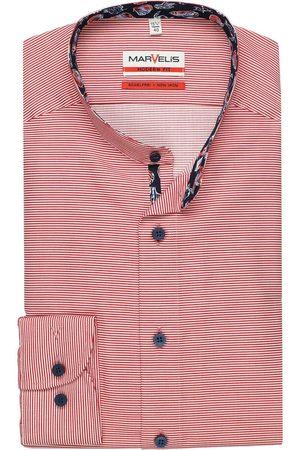 Marvelis Heren Lange mouwen - Modern Fit Overhemd / , Horizontale strepen
