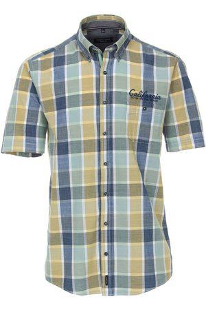Casa Moda Heren Korte mouwen - Casual Casual Fit Overhemd Korte mouw / / , Ruit