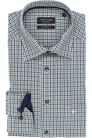 Jupiter Heren Lange mouwen - Regular Fit Overhemd / / , Ruit