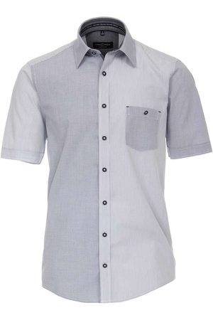 Casa Moda Heren Korte mouwen - Casual Fit Overhemd Korte mouw , Gestreept