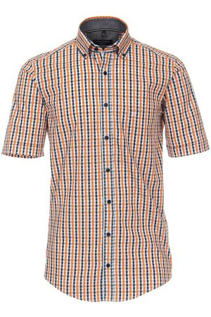 Casa Moda Heren Korte mouwen - Casual Casual Fit Overhemd Korte mouw / , Ruit