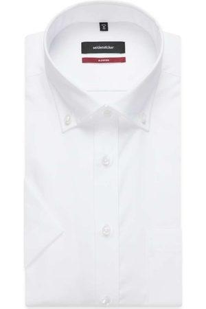 Seidensticker Heren Korte mouwen - Modern Fit Overhemd Korte mouw , Effen