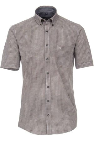 Casa Moda Heren Korte mouwen - Casual Comfort Fit Overhemd Korte mouw , Motief