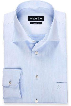 Ledub Heren Lange mouwen - Modern Fit Overhemd , Effen