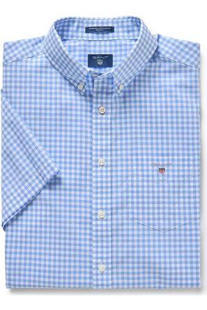 GANT Heren Korte mouwen - Regular Fit Overhemd Korte mouw , Ruit
