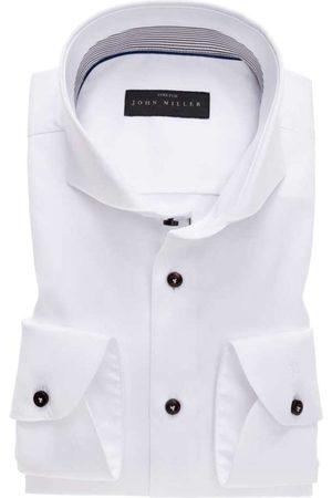john miller Heren Lange mouwen - Tailored Fit Overhemd