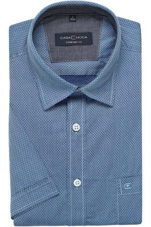 Casa Moda Heren Korte mouwen - Casual Comfort Fit Overhemd Korte mouw / , Gestructureerd