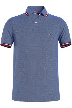 Tommy Hilfiger Heren Korte mouw - Slim Fit Polo shirt Korte mouw indigo, Effen