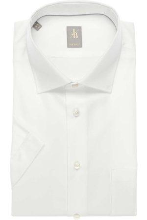 Jacques Britt Heren Korte mouwen - Custom Fit Overhemd Korte mouw , Effen