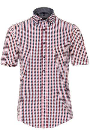 Casa Moda Casual Casual Fit Overhemd Korte mouw / / , Ruit