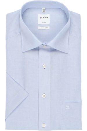 Olymp Heren Korte mouwen - Luxor Comfort Fit Overhemd Korte mouw , Effen