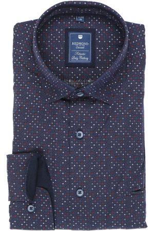 Redmond Heren Casual - Casual Regular Fit Overhemd / / , Motief